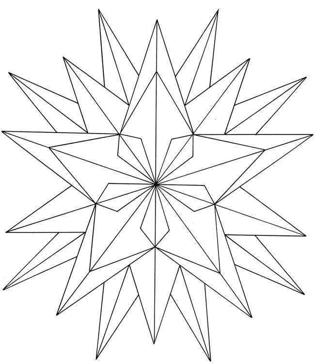 Estrella - Dibujo geométrico más complejo formado por estrellas y ...