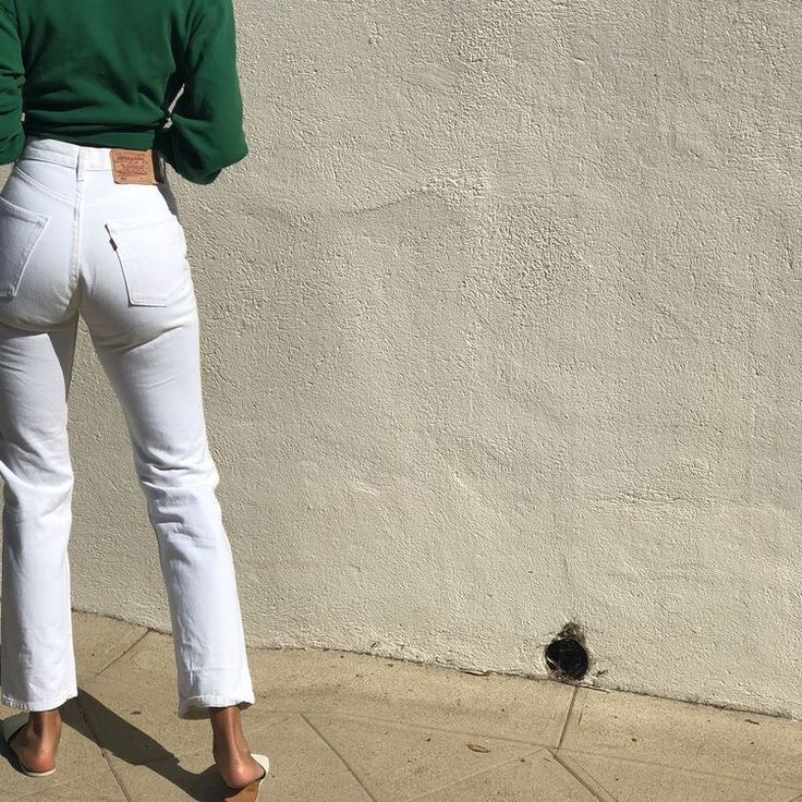 Photo of white denim outfits #summer #style
