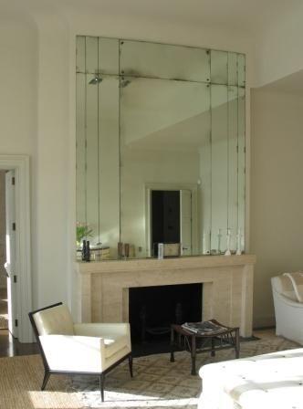 Holy Fireplaces Art Deco Fireplace Art Deco Living Room Antique Mirror Glass
