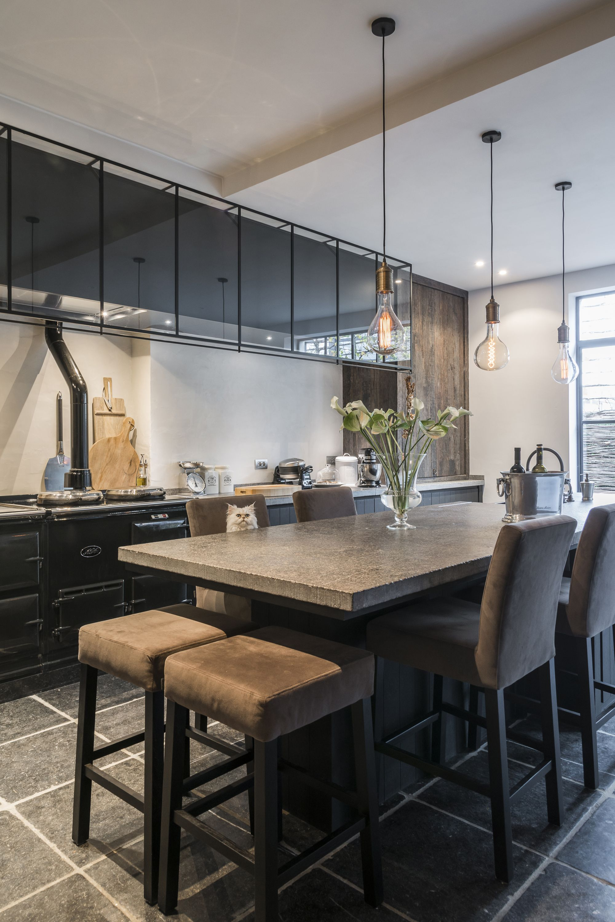 Industriele Keuken Restaurant Slots Décoration Keuken Inspiratie In 2019 Kitchen Design
