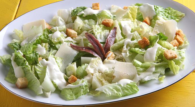 سلطة السيزر من الشيف دعد أبو جابر من الشيف ليلى فتح الله Recipe Recipes Food Vegetables