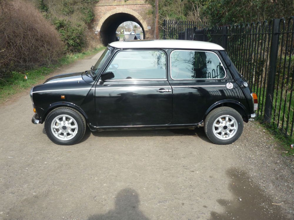 Ebay Rover Special Production Mini Cooper Rsp In Black With 32