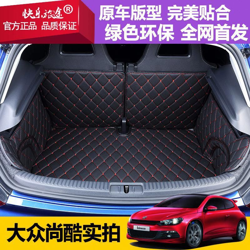 Custom Fit Pu Leather Car Trunk Mat For Volkswagen Scirocco 2008 2009 2010 2011 2012 2013 2014 2015 2016 Scirocco Volkswagen Scirocco Volkswagen Volkswagen Up