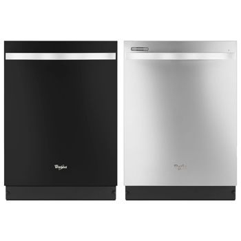Whirlpool Gold Series Dishwasher In Black Ice Or Stainless Steel