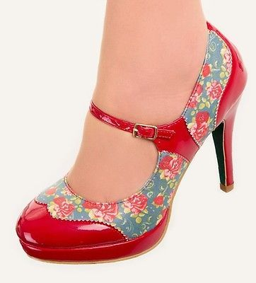 MARY JANE Shoes by Banned POLKA DOT 50s Rockabilly