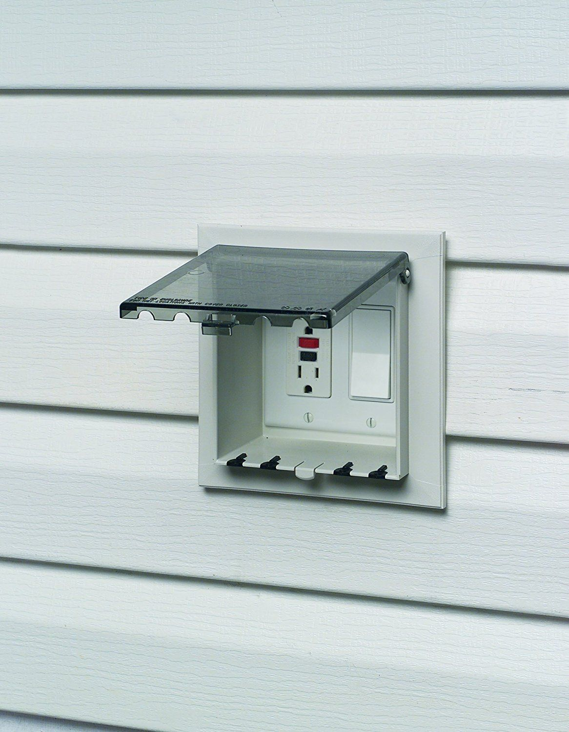 Arlington Dbvs2c 1 Outdoor Electrical Box With