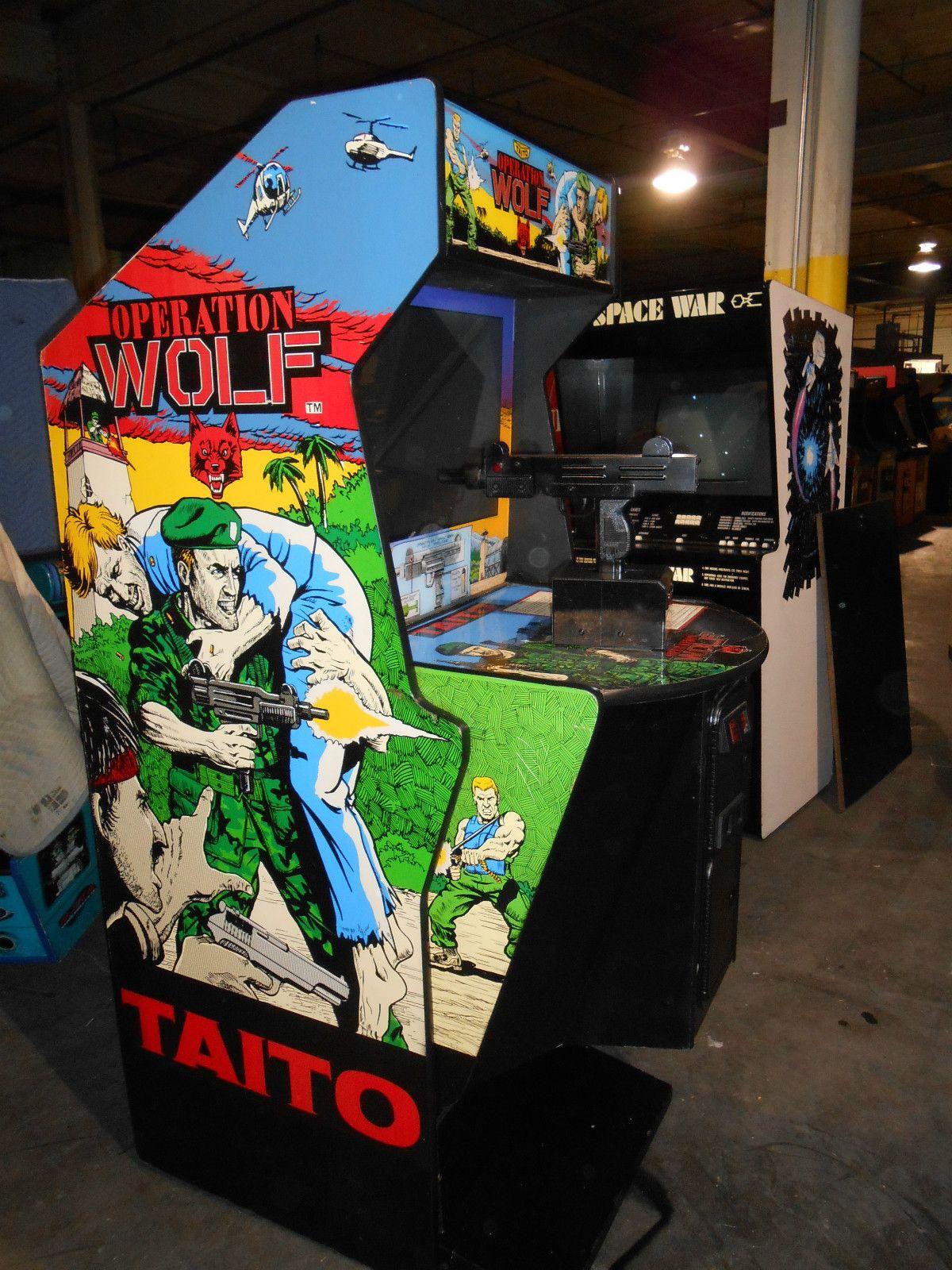 Operation Wolf Arcade Retro Arcade Arcade Cabinet