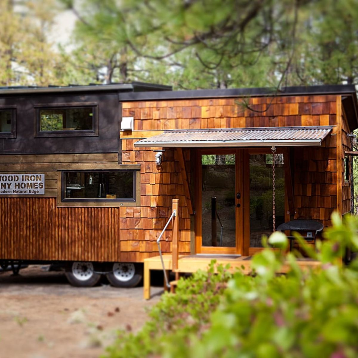 You MUST SEE this 26′ Modern Natural Luxury Tiny Home - Tiny House