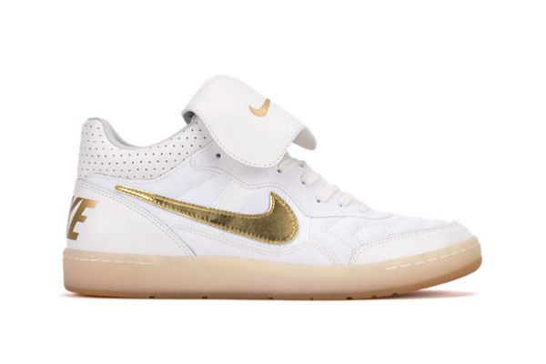 principio Antidolorifico Mew Mew  Nike Tiempo '94 Mid Ivory/Gold & Black/Gold   Comfy shoes, Nike, Sneakers  fashion