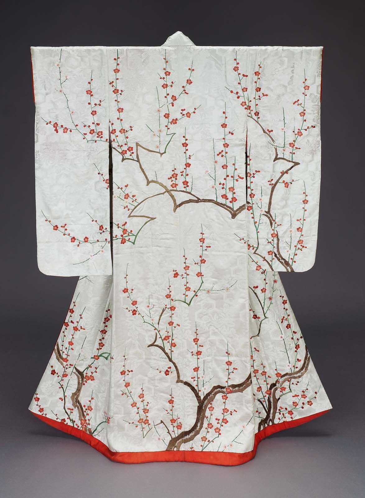 Kimono (furisode) | Museum of Fine Arts, Boston | Konnichiwa ...