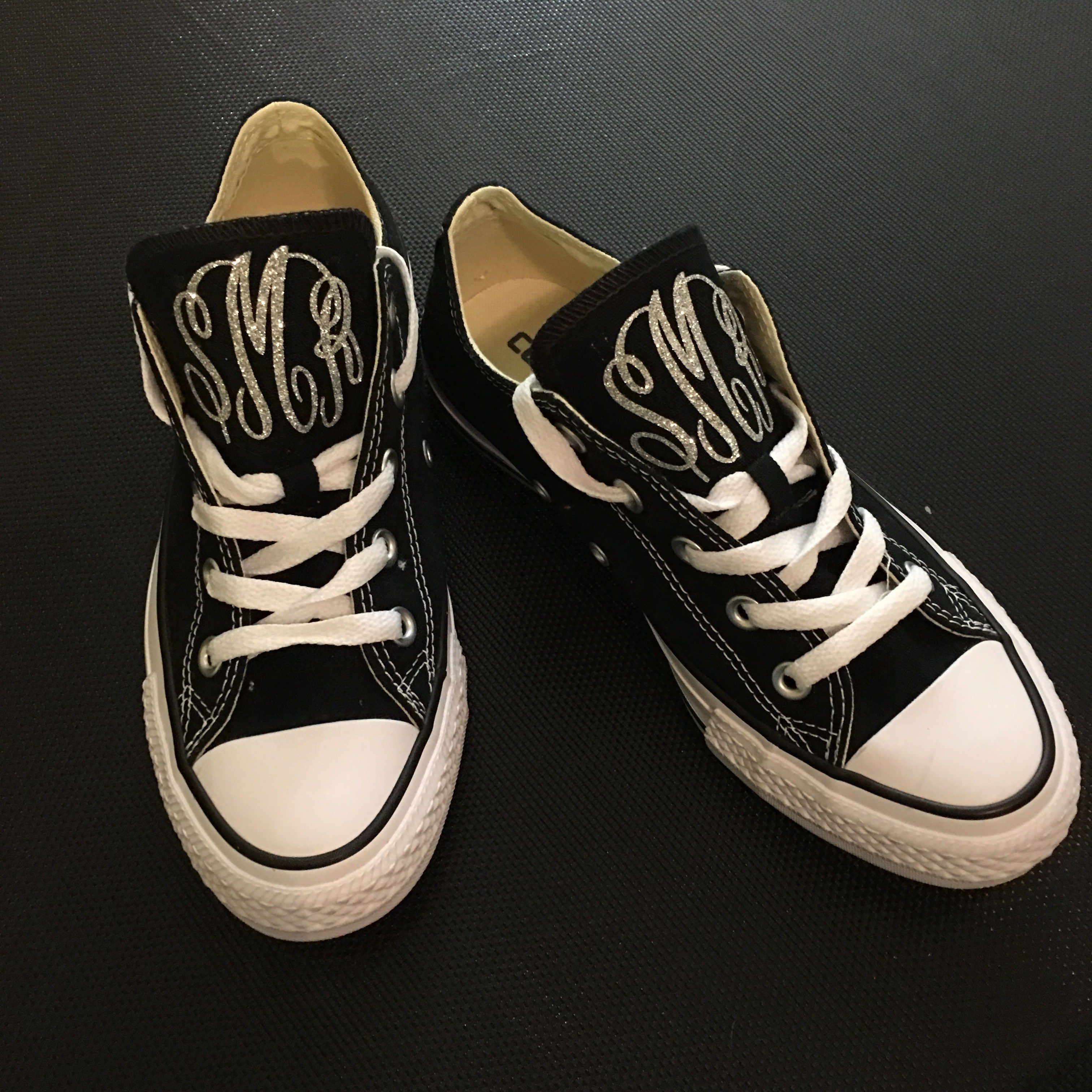 How to Monogram Converse Chuck Taylor Shoes with your Silhouette Cameo 6f4938f7c