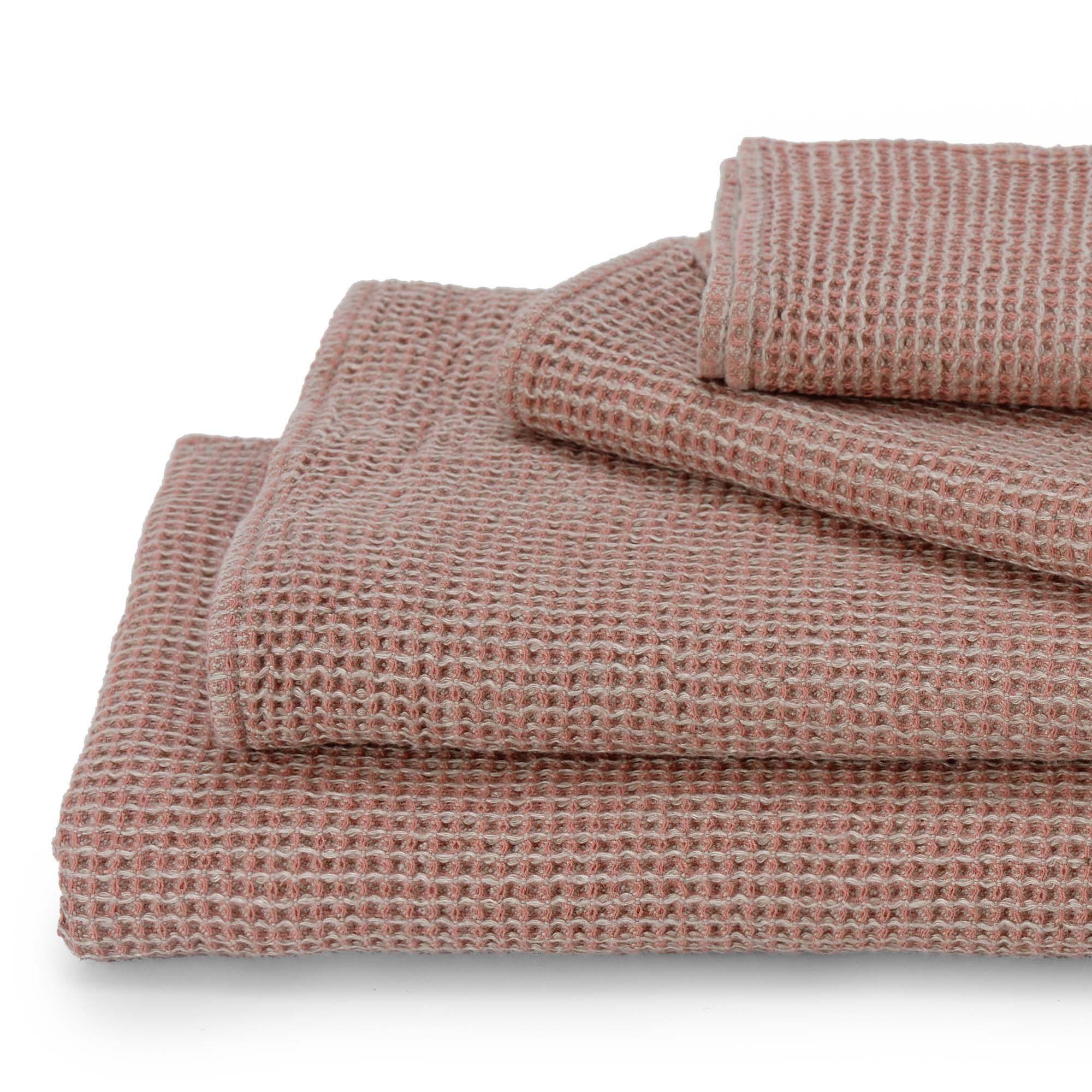 Gastehandtuch Kotra Altrosa Natur Handtuch 50x65 Cm Handtucher Altrosa Und Handtucher Set