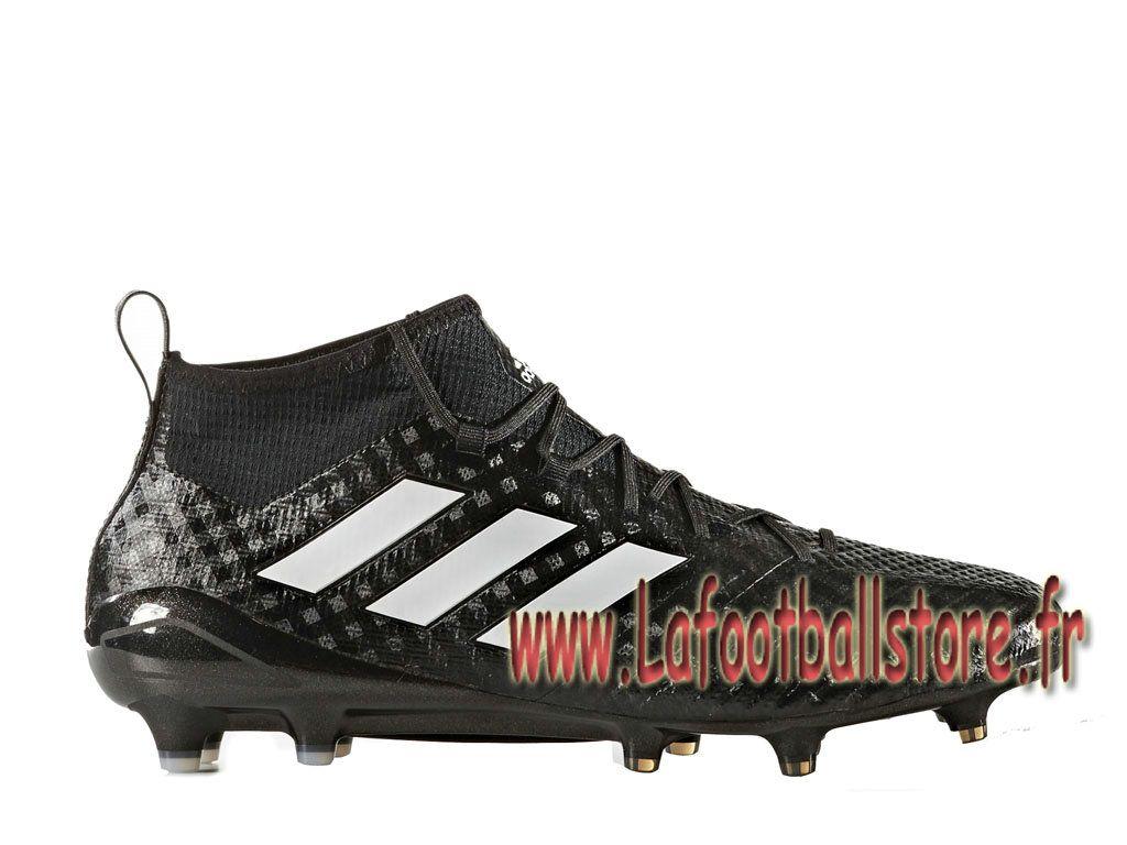 Adidas Football Homme Chaussure ACE 17.1 Primeknit terrain souple Noir  BB4317