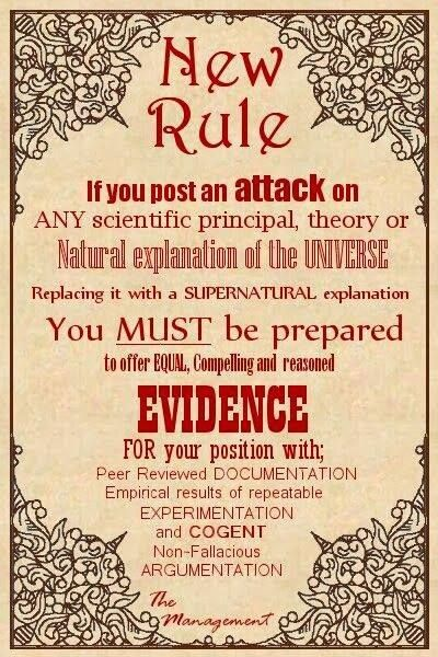 Demand a level playing field…A rational understanding of reality requires  reliable/verifiable evidence…! | Atheism, This or that questions, Science