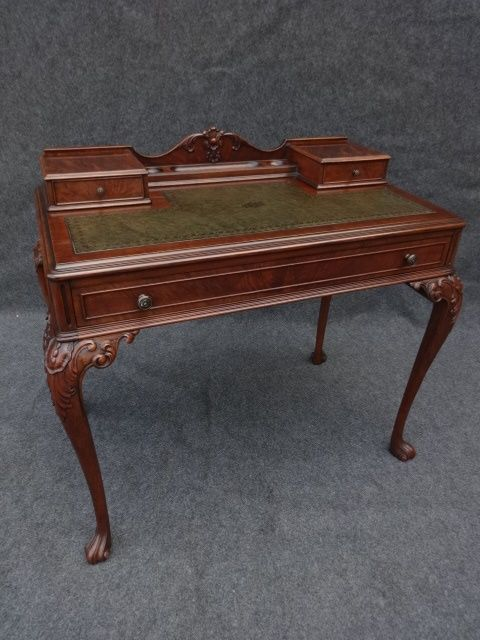 Ladies Mahogany Writing Desk 410178 Antique Writing Desk Writing Desk Vintage Writing Desk