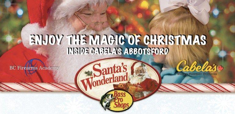 Enjoy The Magic Of Christmas Inside Cabela S Abbotsford Christmas Magic Enjoyment Abbotsford