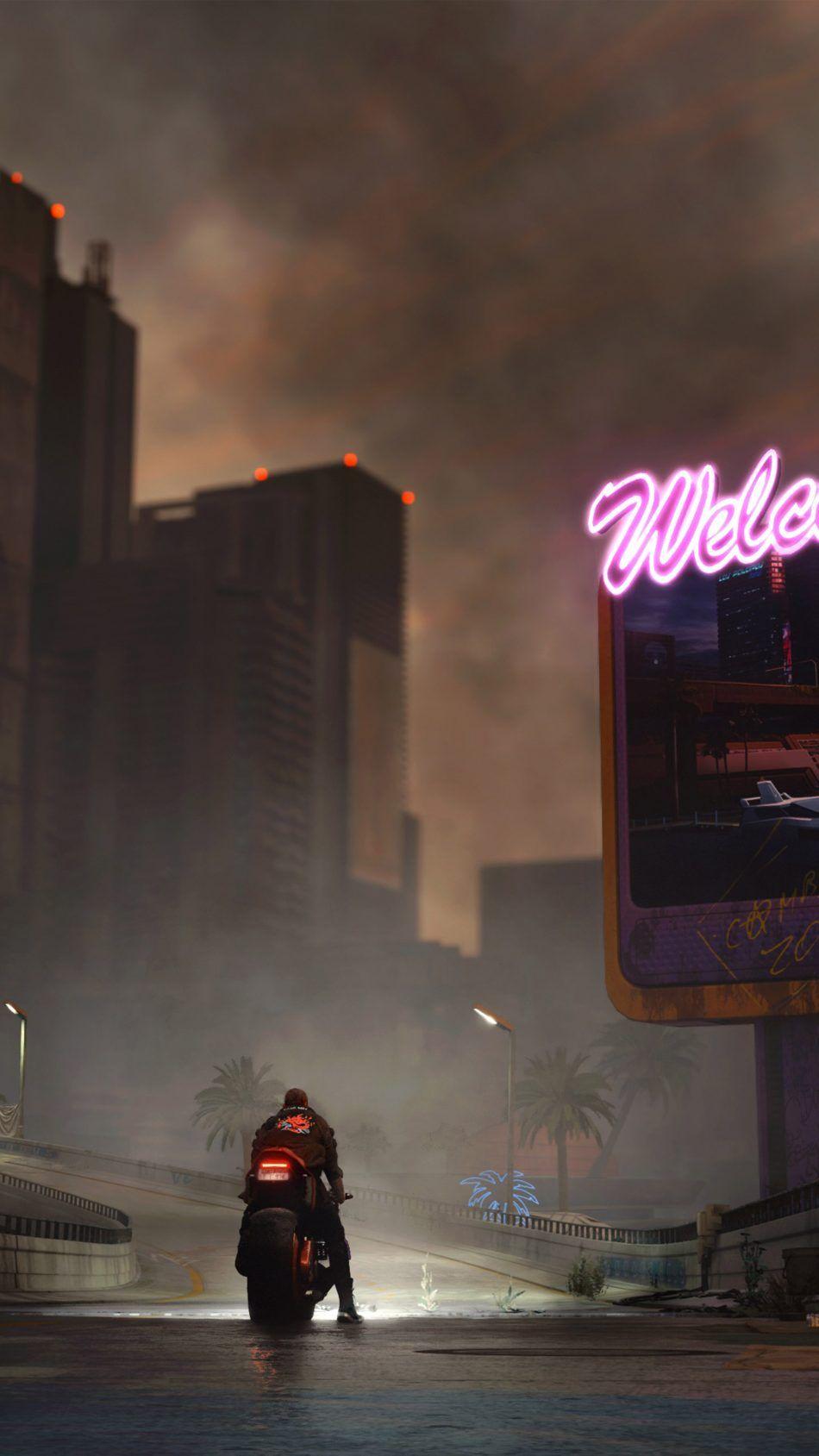 Bike Ride Cyberpunk 2077 4k Ultra Hd Mobile Wallpaper Cyberpunk Aesthetic Cyberpunk 2077 Cyberpunk City