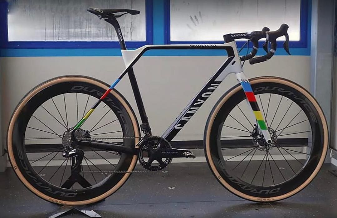rainbow world champs canyon cx bike