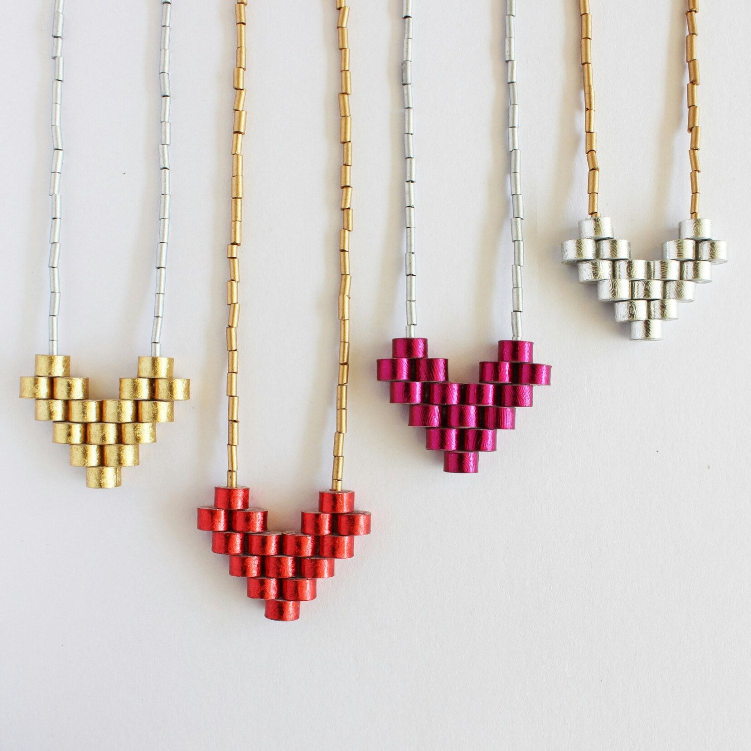 1st Anniversary Heart Necklace Us4Bp