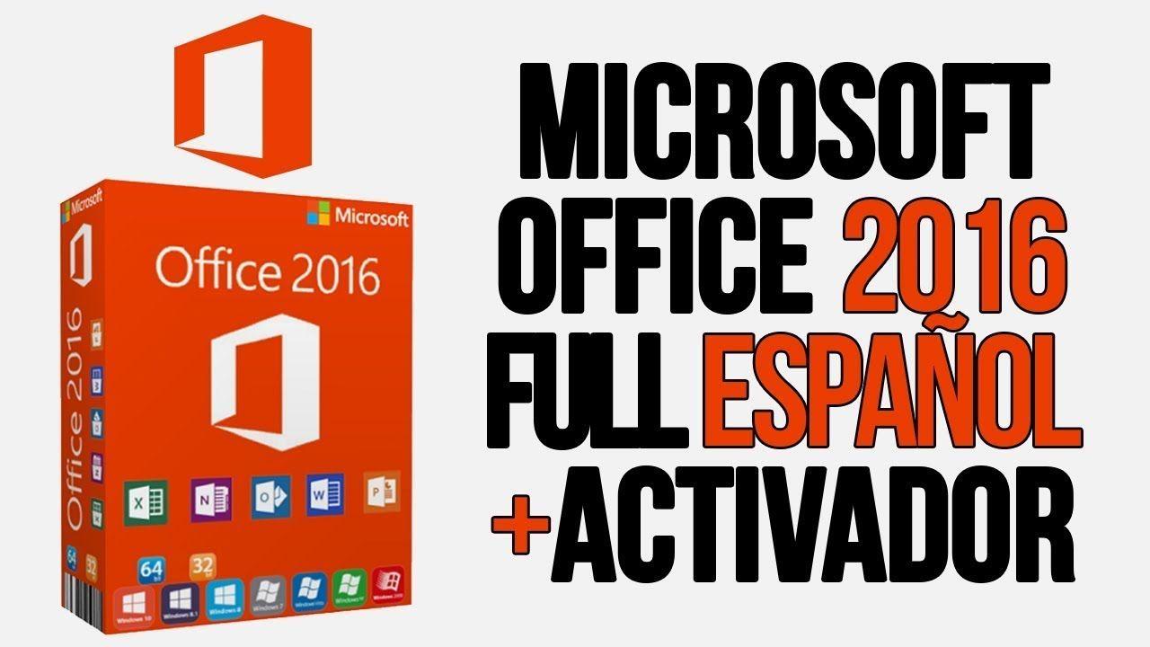 Descargar Office 2016 Activado En 2020 Microsoft Windows
