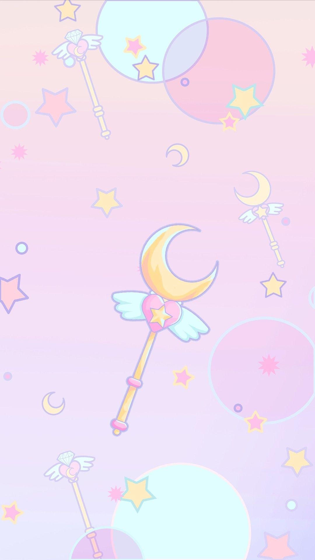 Pin By Magdalena Klaun On Pastel Kawaii Sailor Moon Wallpaper Sailor Moon Art Sailor Moon Background