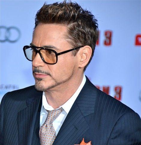 Robert Downey Jr Iron Man Haircut
