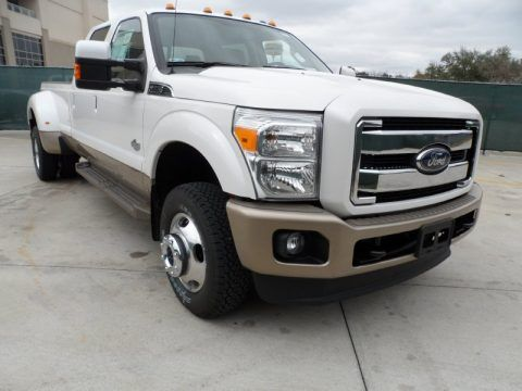 08 King Ranch F350 Dually White Yes Yes Picking Her Up Tomorrow