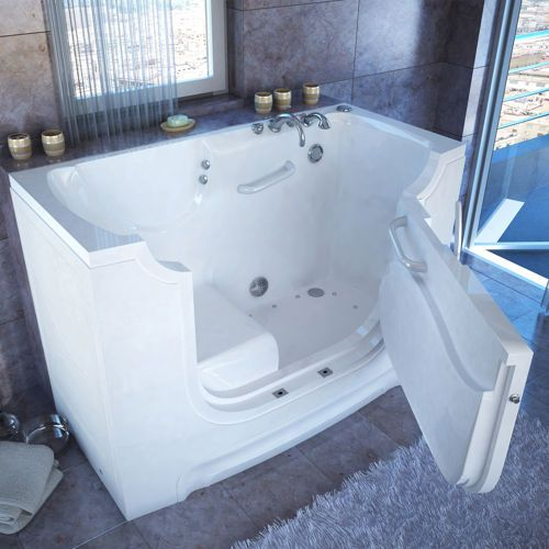 Access Tubs Wheelchair Accessible Slide-in Tub with Air Bubble ...