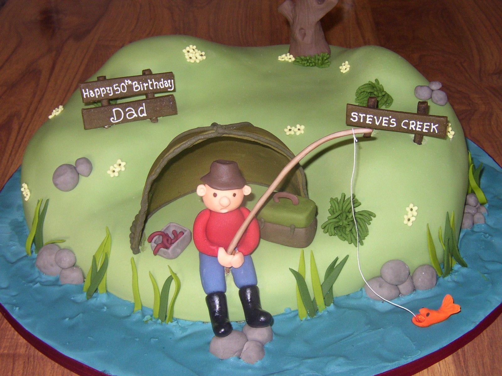 Awe Inspiring Fishing Theme Birthday Decorations Fishing Inspired Novelty Funny Birthday Cards Online Eattedamsfinfo