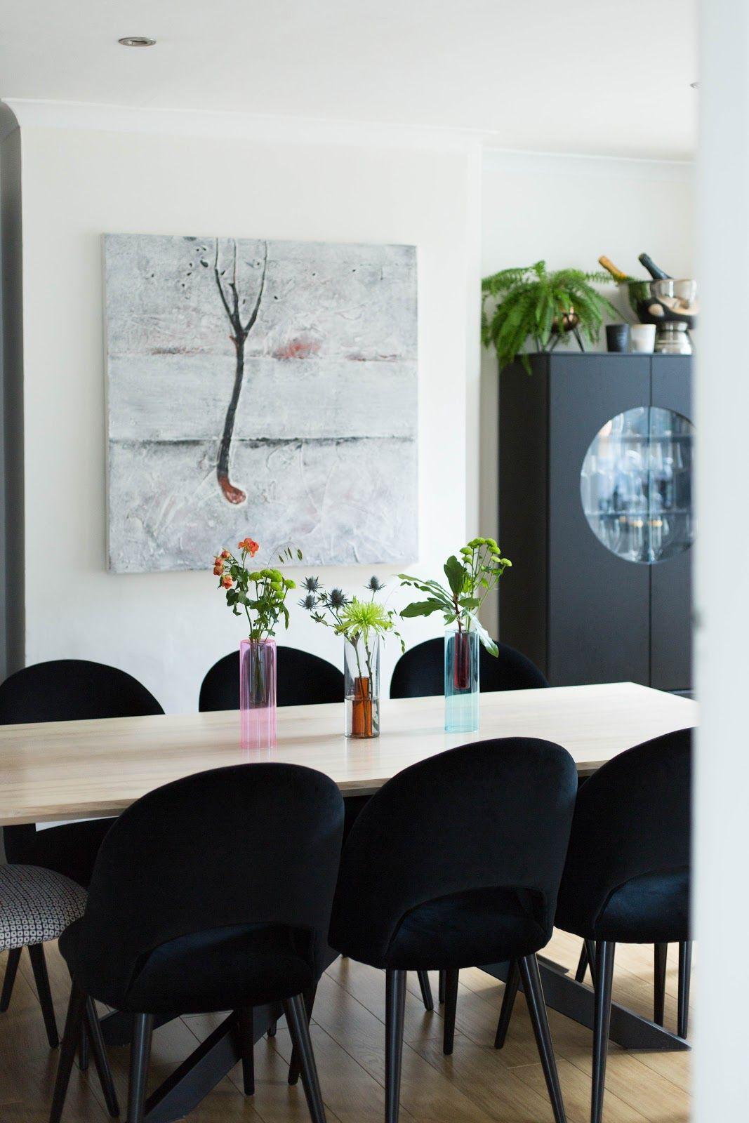 Ad Reversible Glass Vases By Block Design Modern Flower Arrangements Dining Table Minimalist Decor