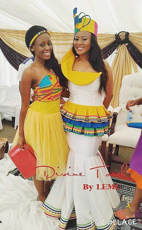 Sepedi Traditional dress By Divine touch by LEMC | Traditional ...