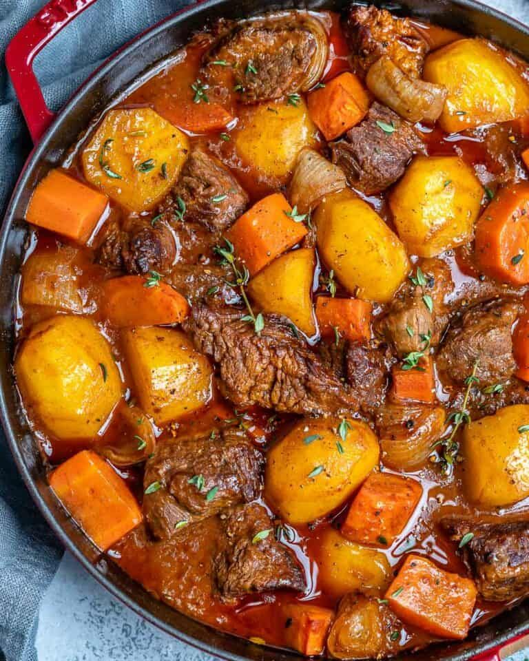 Easy Homemade Beef Stew | Recipe in 2020 | Homemade beef ...