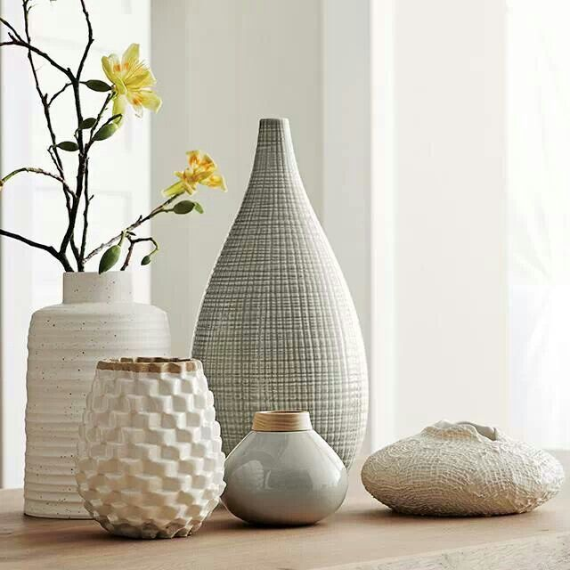 Crate And Barrel Vases The Nature Lovers Living Room Pinterest