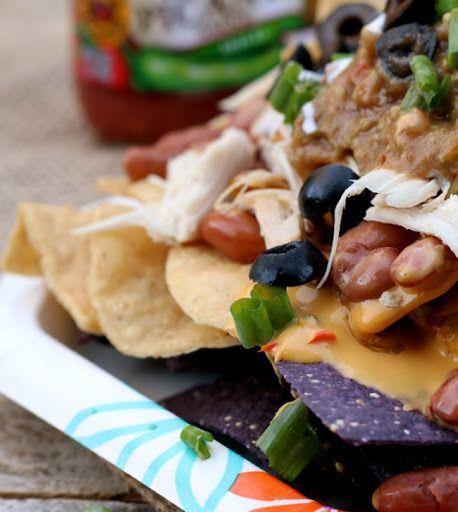 Rotisserie Chicken Nachos with SalsaMole Recipe on Yummly