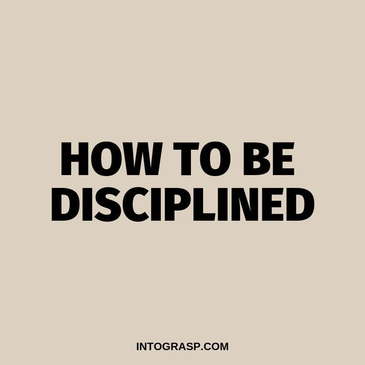 How to Be Disciplined in Life. How to Improve Self-Discipline #discipline