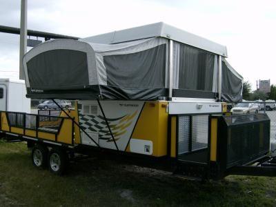 2005 Fleetwood Coleman SCORPION S1 Pop Up Toy Hauler RV