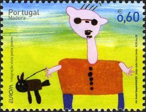Stamp: Europa (Madeira Islands) (Europa (C.E.P.T.) 2006 - Integration) Mi:PT-MD 259,WAD:XB017.06,Afi:PT 3402