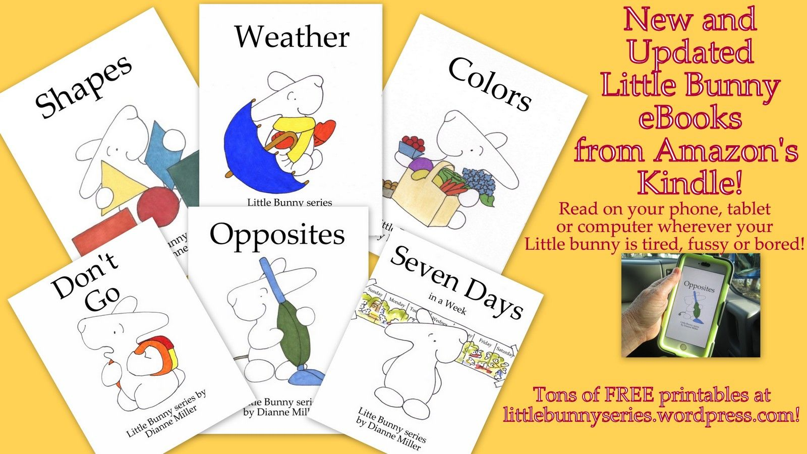 Learn Preschool Concepts And With Little Bunny Ebooks And
