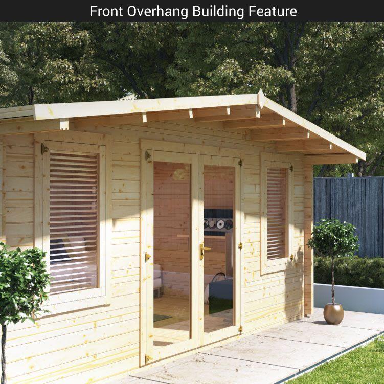 Billyoh Winchester Log Cabin Log Cabins Garden Buildings Direct Garden Buildings Direct Summer House Design Garden Buildings