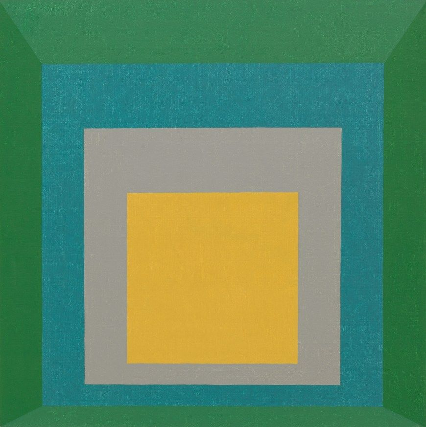 Home Albers By Design: Josef Albers, Homage To The Square: Apparition, 1959. Oil