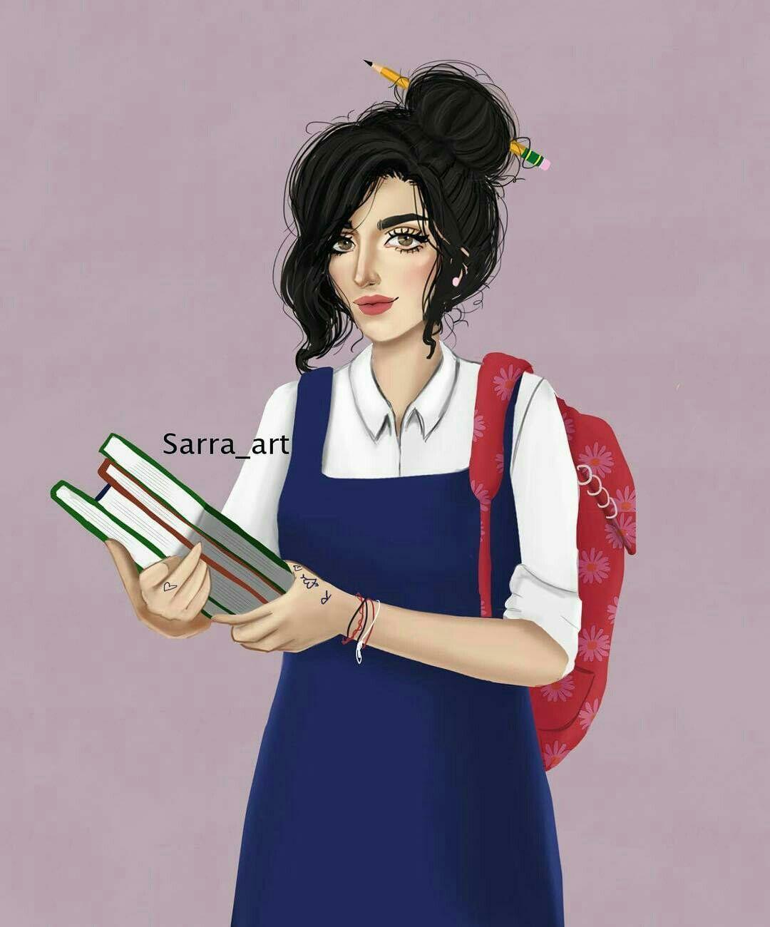 Pin By Sherif Mahmoud On Girl Sarra Art Digital Art Girl Girly Drawings