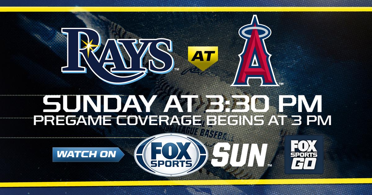 TV FOX Sports Sun Time Pregame coverage begins at 3 p.m