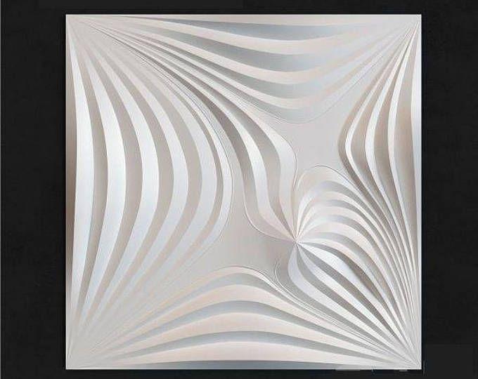 Ceramics & Pottery Sculpting, Molding & Ceramics *wave* 3d Decorative Wall Panels 1 Pcs Abs Plastic Mold For Plaster