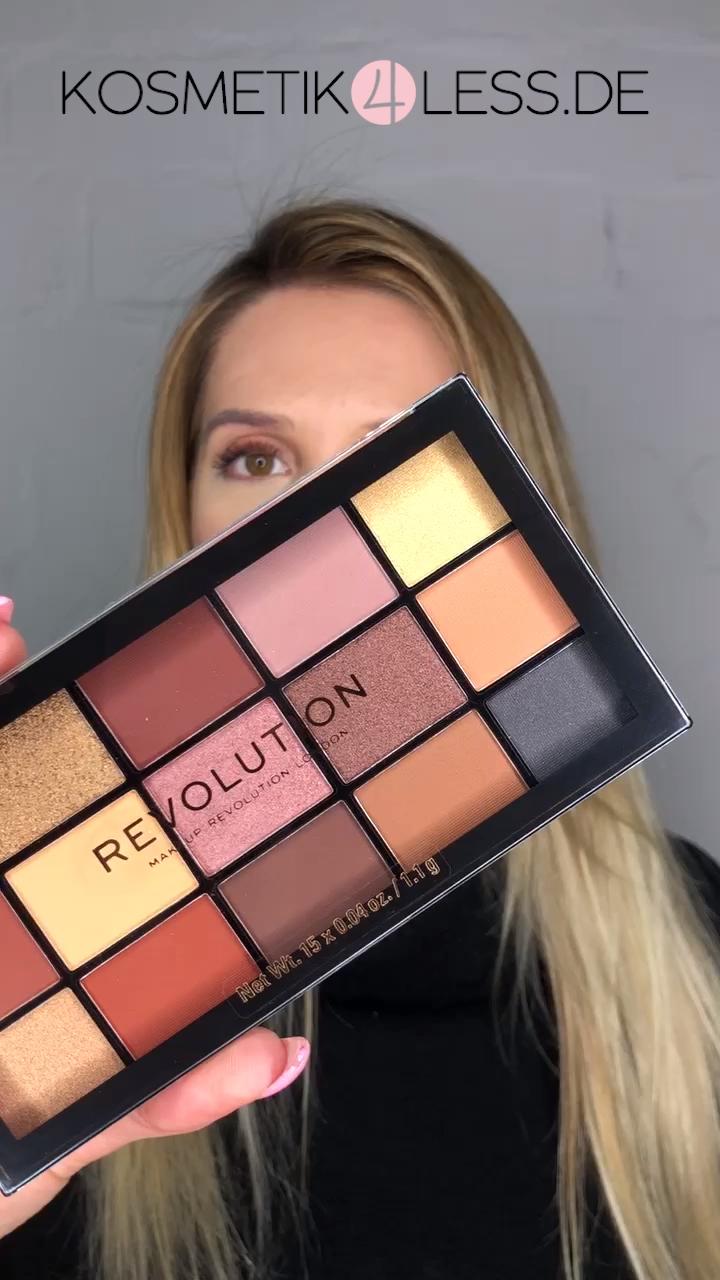 Makeup Revolution Lidschattenpalette Velvet Rose