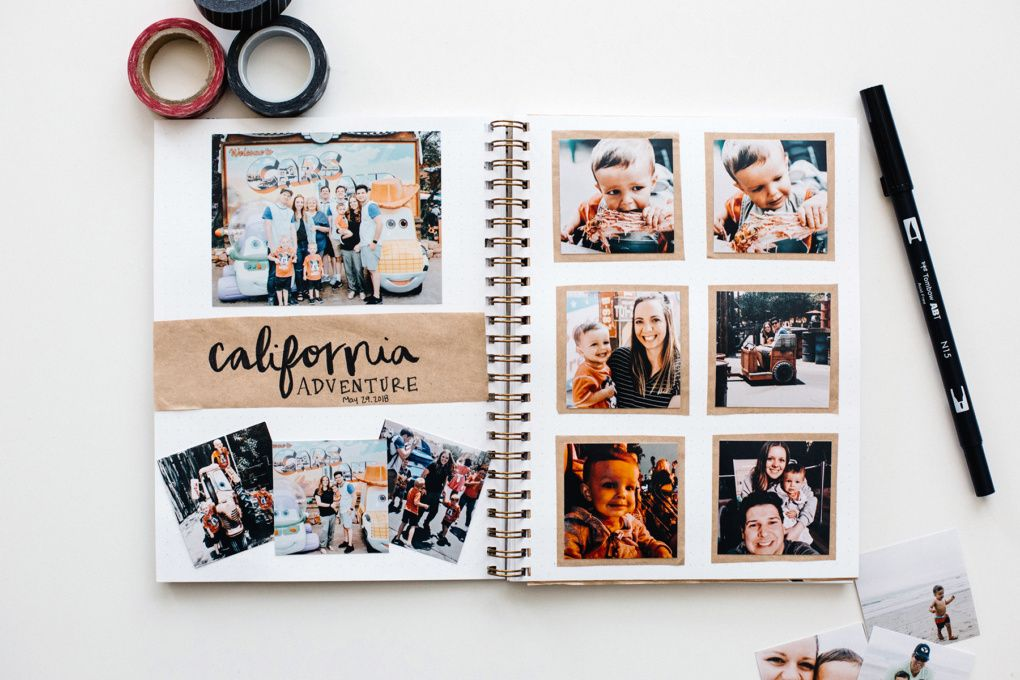 Document Disney with a Travel Album #scrapbook