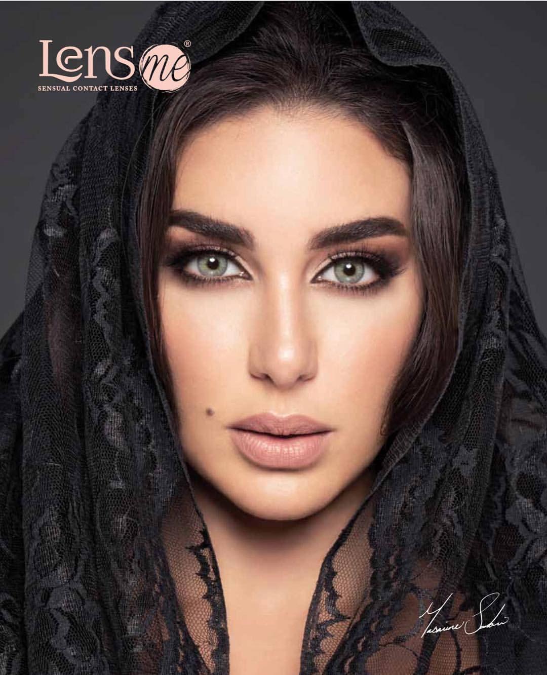 اللون كلاود من عدسات لنس مي بعيون الفنانه الخلوقه ياسمين صبري متوفره في معظم صيدليات النهدي Nahdi Egyptian Actress Beautiful Arab Women Beautiful Women Faces
