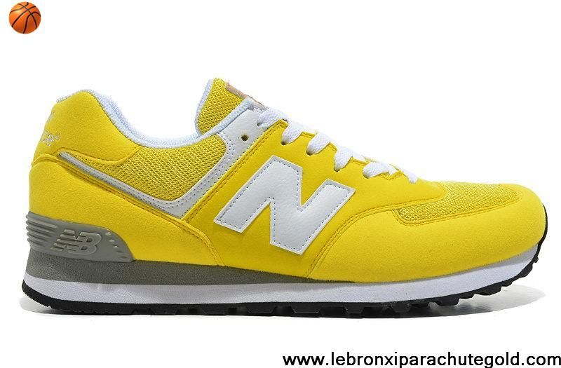 New Balance NB 574 Five Rings series White Golden Yellow For Men shoes  Casual shoes Shop