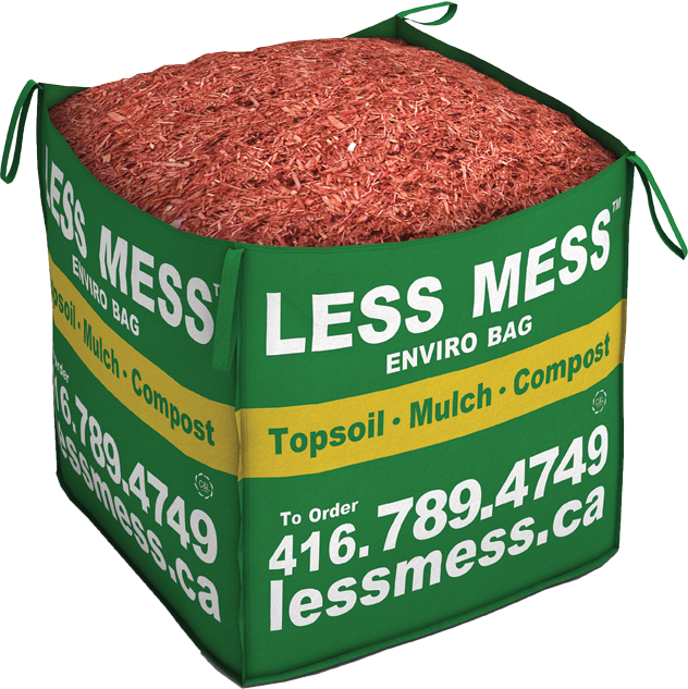 Less Mess Top soil, Mulch