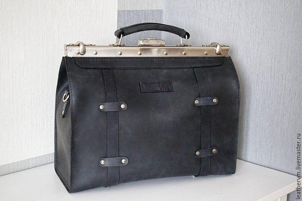 fb7eb94d8be3 Мужские сумки ручной работы. Сумка саквояж