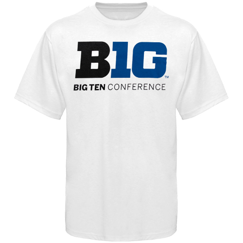 173cee73 Big Ten Conference Logo T-Shirt - White | Big Ten Sports ...